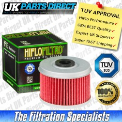 Honda ATC250 ES Big Red Oil Filter (85-87) - Hi Flo - TUV APPROVED - HF113