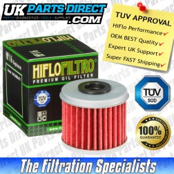 HM Moto 250 CRE-F R 4T Oil Filter (04-09) - Hi Flo - TUV APPROVED - HF116