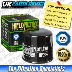 Arctic Cat 600 4 x 4 Oil Filter (2004) - Hi Flo - TUV APPROVED - HF204