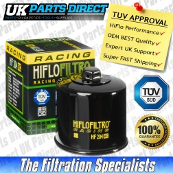 Arctic Cat 600 4 x 4 Oil Filter (2004) - Hi Flo - TUV APPROVED - HF204RC