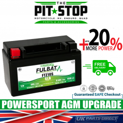 MV Agusta Brutale 910 (05-09) FULBAT UPGRADE BATTERY - FTZ10S - YTZ10S