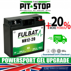 Lawn Mower Lawnmower UPGRADE BATTERY- FULBAT GEL - NH12-20
