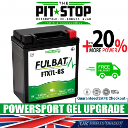 Aprilia Mojito 125 FULBAT GEL UPGRADE BATTERY (03-16) - YTX7L - FTX7L - PTX7L