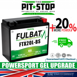 Access AX600 FULBAT GEL UPGRADE BATTERY - YTX20L - FTX20L - PTX20L - NTX20L