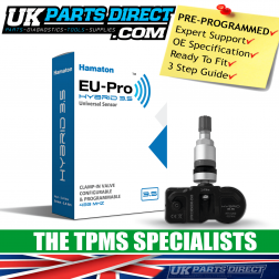 BMW 8 Series (18-26) TPMS Tyre Pressure Sensor - PRE-CODED - Ready to Fit - 36106872803