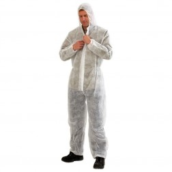 White Disposable Spray Suits - Large