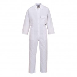 Portwest White Coverall / Boiler Suit - Large