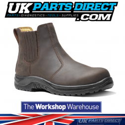 V12 Stallion Safety Work Boots STS - Brown - Size 8