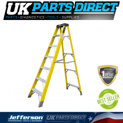 Jefferson Tools 6+1 Tread Fibreglass Step Ladder