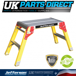 Jefferson Tools 300mm Wide 2 Tread Fibreglass Work Platform