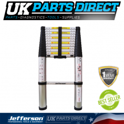 Jefferson Tools 3.8M Safe Close Telescopic Ladder