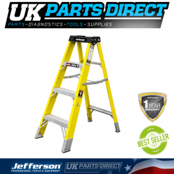 Jefferson Tools 3+1 Tread Fibreglass Step Ladder