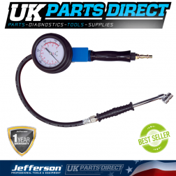 Jefferson High Precision Industrial Workshop Tyre Inflator - JEFGTYH03