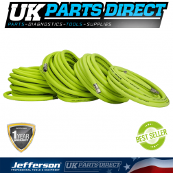 Jefferson Tools 15m High-Vis Hybrid Air Hose