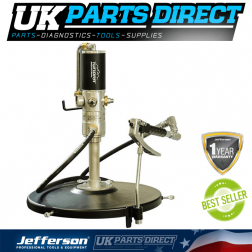 Jefferson Tools Tundra 50:1 Grease Pump & Gun