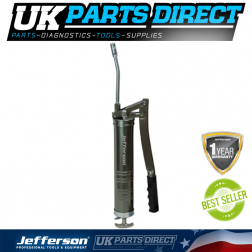 Jefferson Tools Professional Iron Head Grease Gun