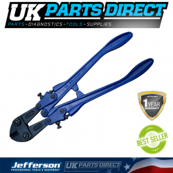 """Jefferson 36"""" Forged Solid Steel Handle Bolt Cutter Cropper - JEFBCT900F"""