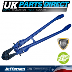 """Jefferson Tools 18"""" Forged Steel Handle Bolt Cutter"""