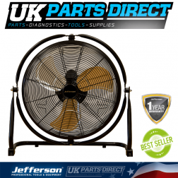 Jefferson Tools 18'' Orbital Floor Fan 230V