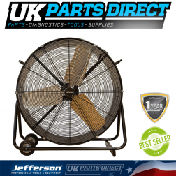 Jefferson Tools 30'' Commercial Drum Fan 230V