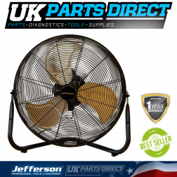 Jefferson Tools 20'' High Velocity Floor Fan 230V