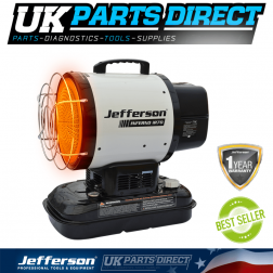 Jefferson Tools Infrared 70 Heater