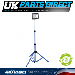 Jefferson Tools 1400 Lumens Telescopic LED Work Light (230V)