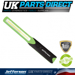 Jefferson Tools 220 Lumens High Performance COB Inspection Lamp (Green)