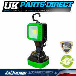 Jefferson Tools 1000 Lumens COB LED Rechargeable Multi-Functional Inspection Lamp