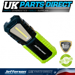 Jefferson Tools 420 Lumens COB LED Rechargeable Inspection Lamp