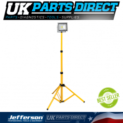 Jefferson Tools 1400 Lumens Telescopic LED Work Light (110V)