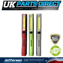 Jefferson Tools 230 Lumens COB LED Pen Light