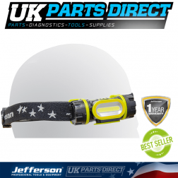 Jefferson Tools 160 Lumens Rechargeable Headlamp