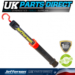 Jefferson Tools 500 Lumens Rechargeable COB LED Inspection Lamp