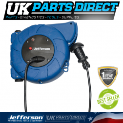 Jefferson Tools 1500W Retracting Cable Reel