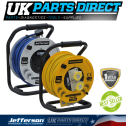 Jefferson Tools 25m 230V Cable Reel