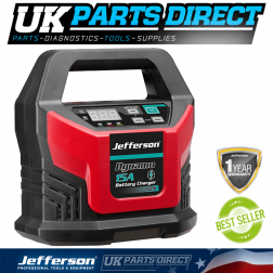 Jefferson Tools 15A Battery Charger 12V (15A 300sec Booster)