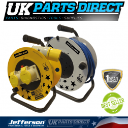 Jefferson Tools 40m 110V Cable Reel
