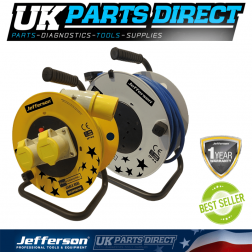 Jefferson Tools 25m 110V Cable Reel