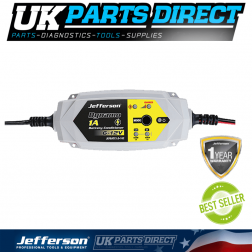 Jefferson Tools 1A Battery Conditioner 6-12V