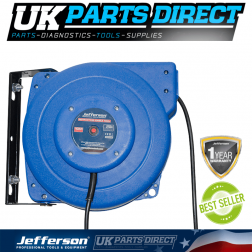 Jefferson Tools 2750W Retracting Cable Reel