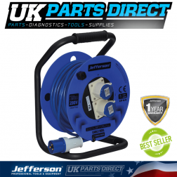 Jefferson Tools 25m 230V 16A Cable Reel