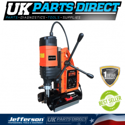 Jefferson Tools 35mm Permanent Magnetic Drill (110V)