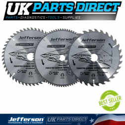 "Jefferson Tools 7"" TCT Blade 40T"