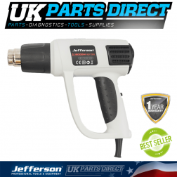 Jefferson Tools Electronic Heat Gun Variable (230V)