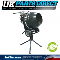 Jefferson Tools Petrol Cement Mixer 2.5HP (Loncin Engine) - 2021 UPGRADED MODEL