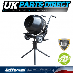 Jefferson Tools Electric Cement Mixer 230V