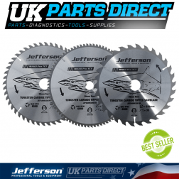 "Jefferson Tools 12"" TCT Blade 60T"