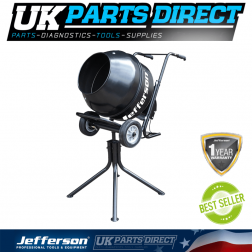 Jefferson Tools Electric Cement Mixer 110V