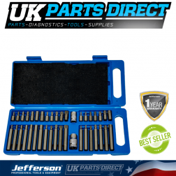 Jefferson Tools 40 Piece Power Bit Set